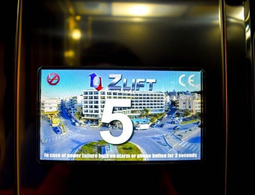 Οθόνη TFT ανελκυστήρα