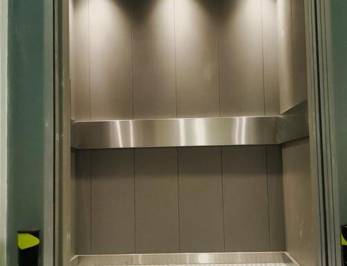 Ανελκυστήρας φορτίων σε κατάστημα στην Ρόδο